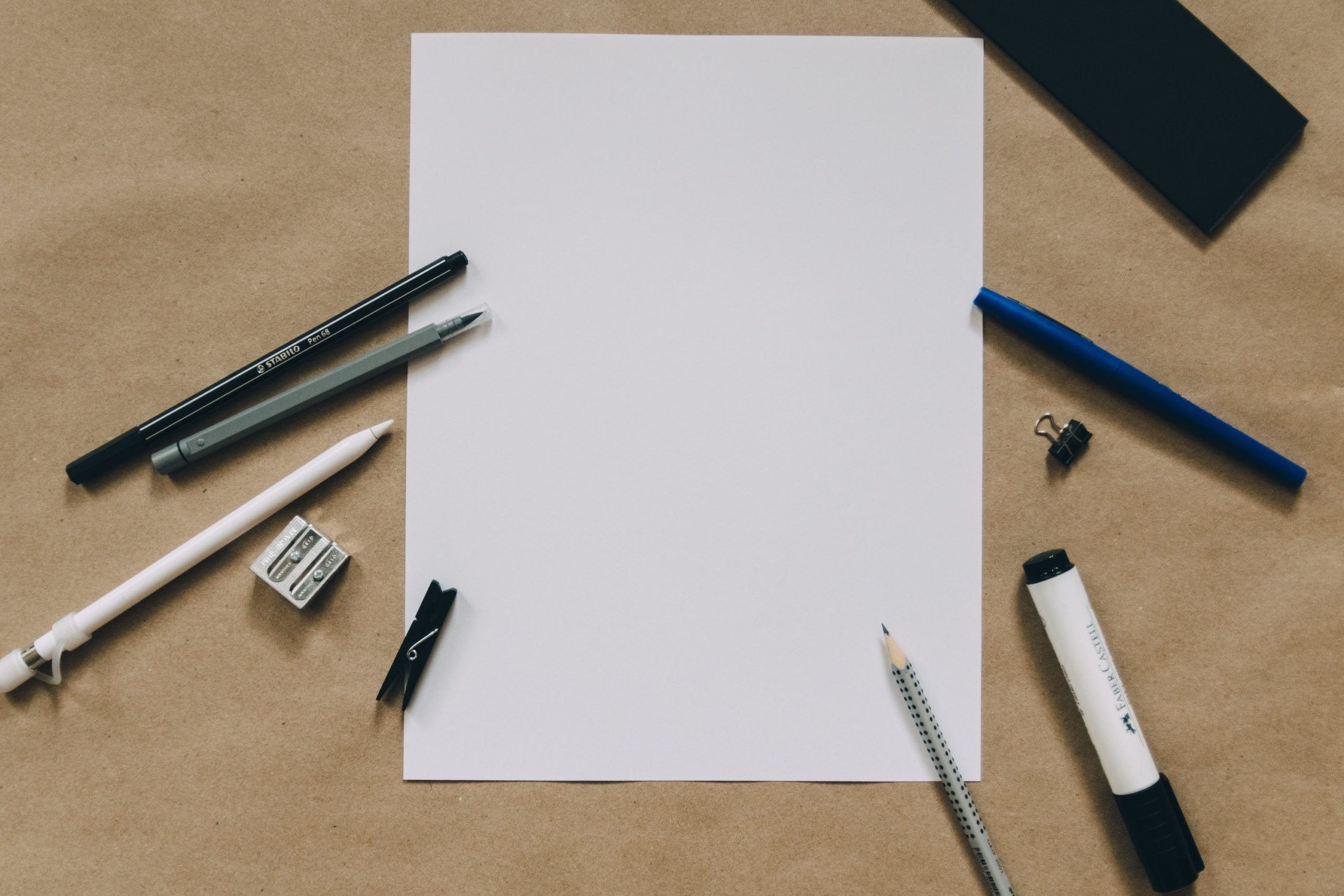 Paper Sheet Title Image
